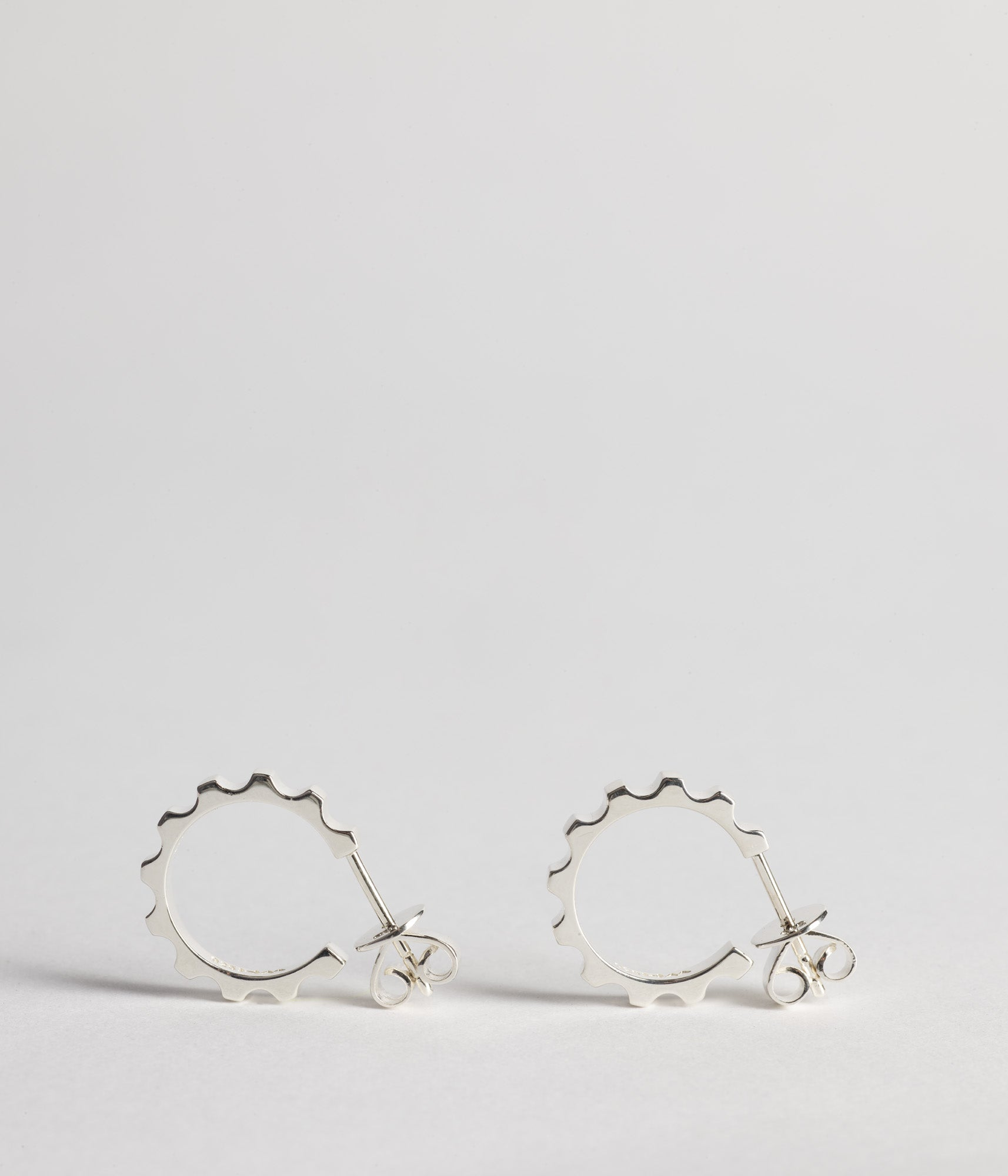 Parmentier Hoops Small  - Sterling silver