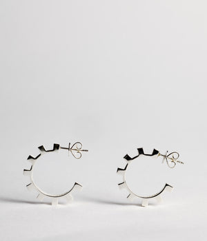 Dental Hoops - Sterling Silver