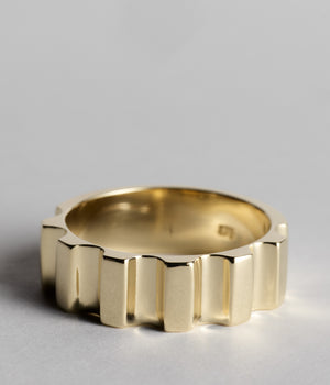 Parmentier Ring - 9ct Yellow Gold