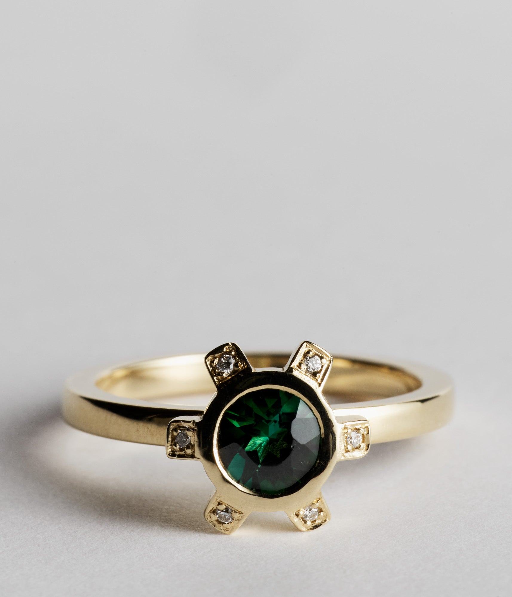 Beverley Ring - Green Tourmaline