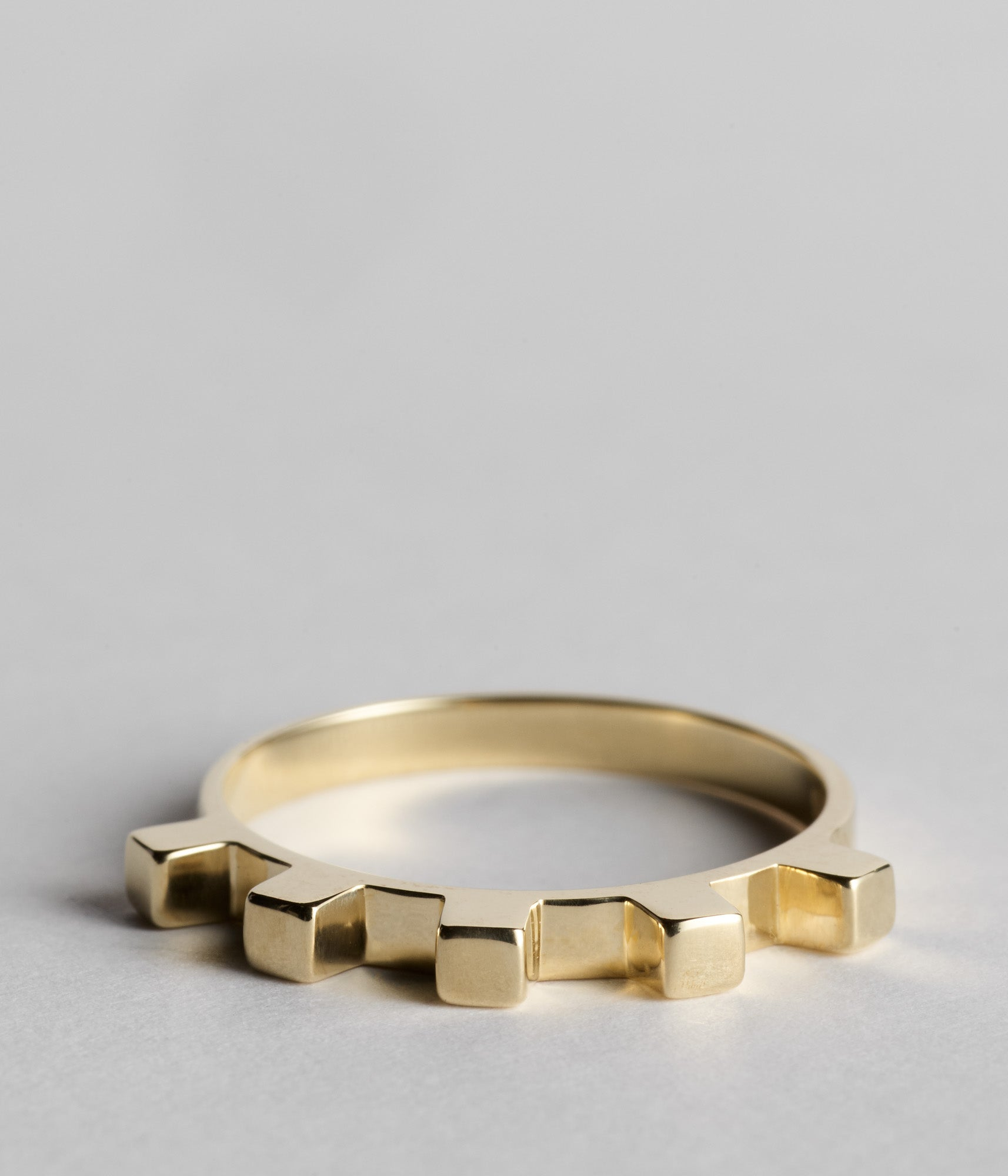 Dental Ring - Yellow Gold