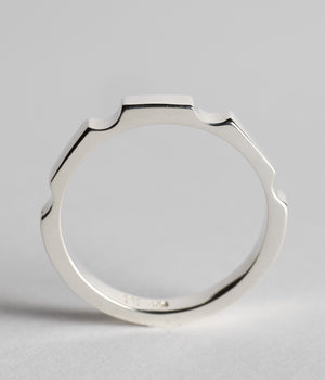 Parmentier Bridge Ring - Sterling Silver