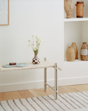 Double edged Side Table