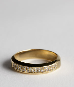 Song Ring - 18ct yellow gold