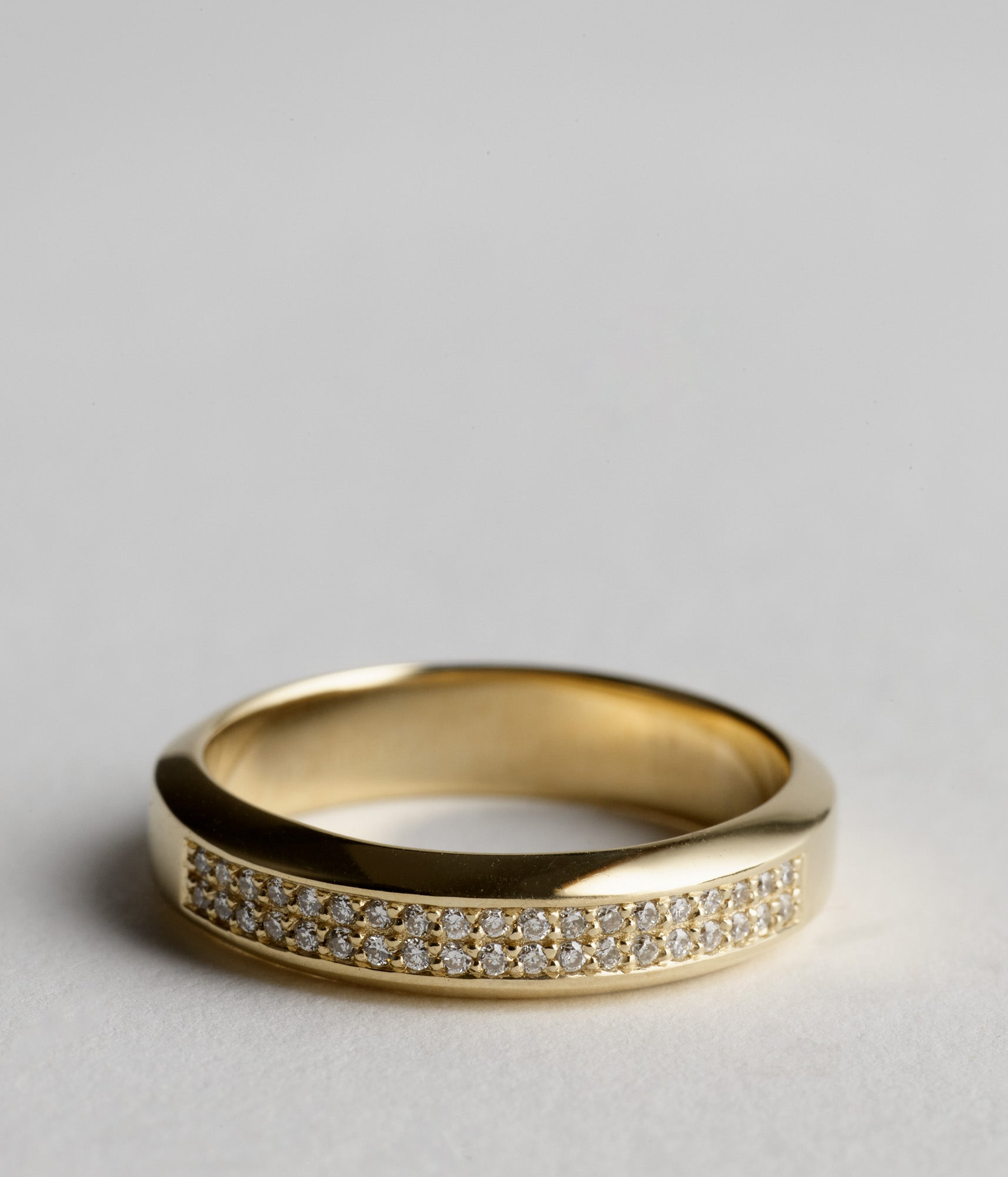 Song Ring - 9ct yellow gold