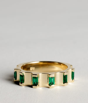 Parmentier Ring - Emerald