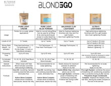 Load image into Gallery viewer, ALTER EGO ITALY - BlondEgo Balayage Clay Lightener (450gr)