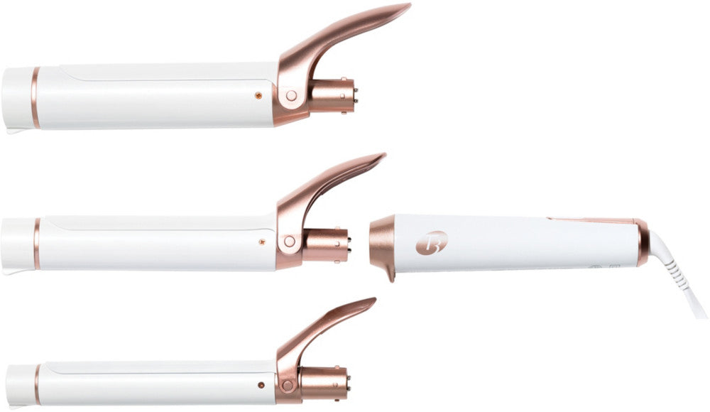 T3 Twirl Trio Interchangeable Clip Curling Iron Set