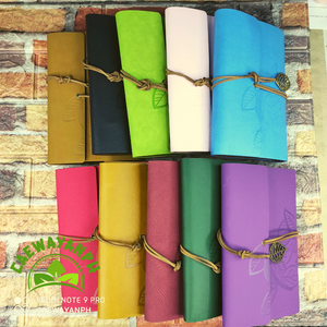 Leaf Colorful Notebook