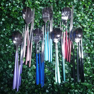 Caewayan 2 tone Metal Cutlery (Limited stocks only)