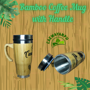 NEW Bamboo Coffee Mug (Limited stock)
