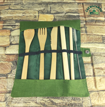 Load image into Gallery viewer, Bamboo Cutlery