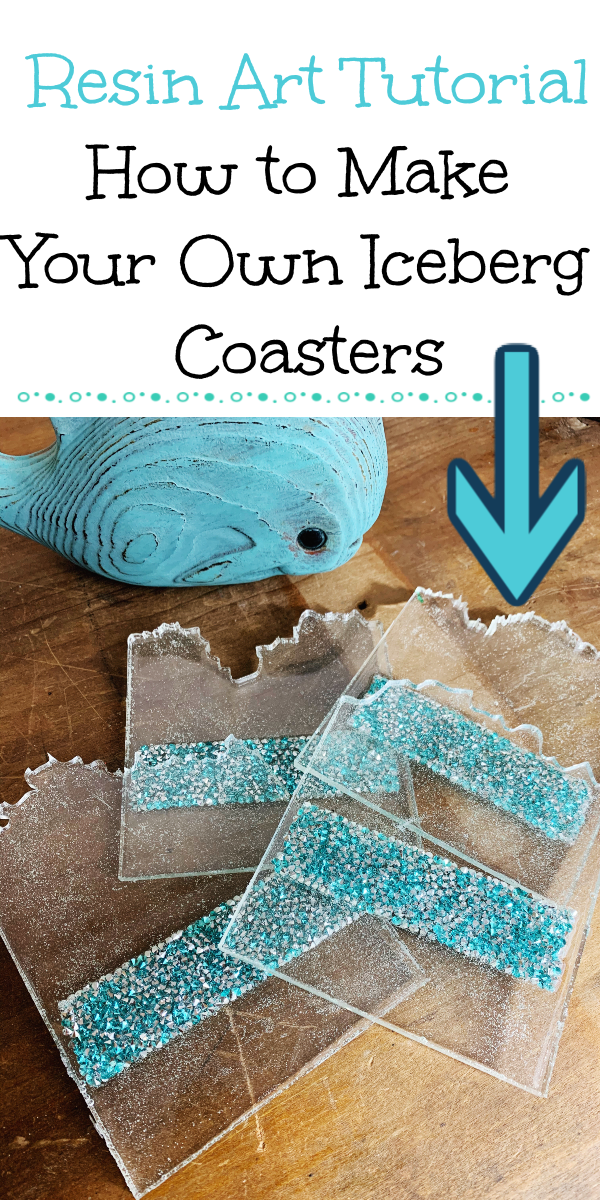 How to Make Iceberg Coasters with the Square Geode Coaster Mold