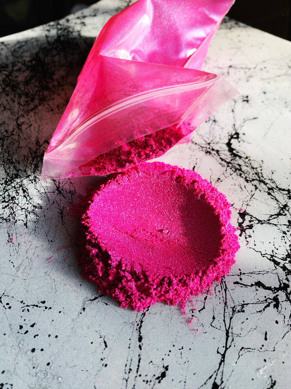 Ultra Pink Violet Mica Powder