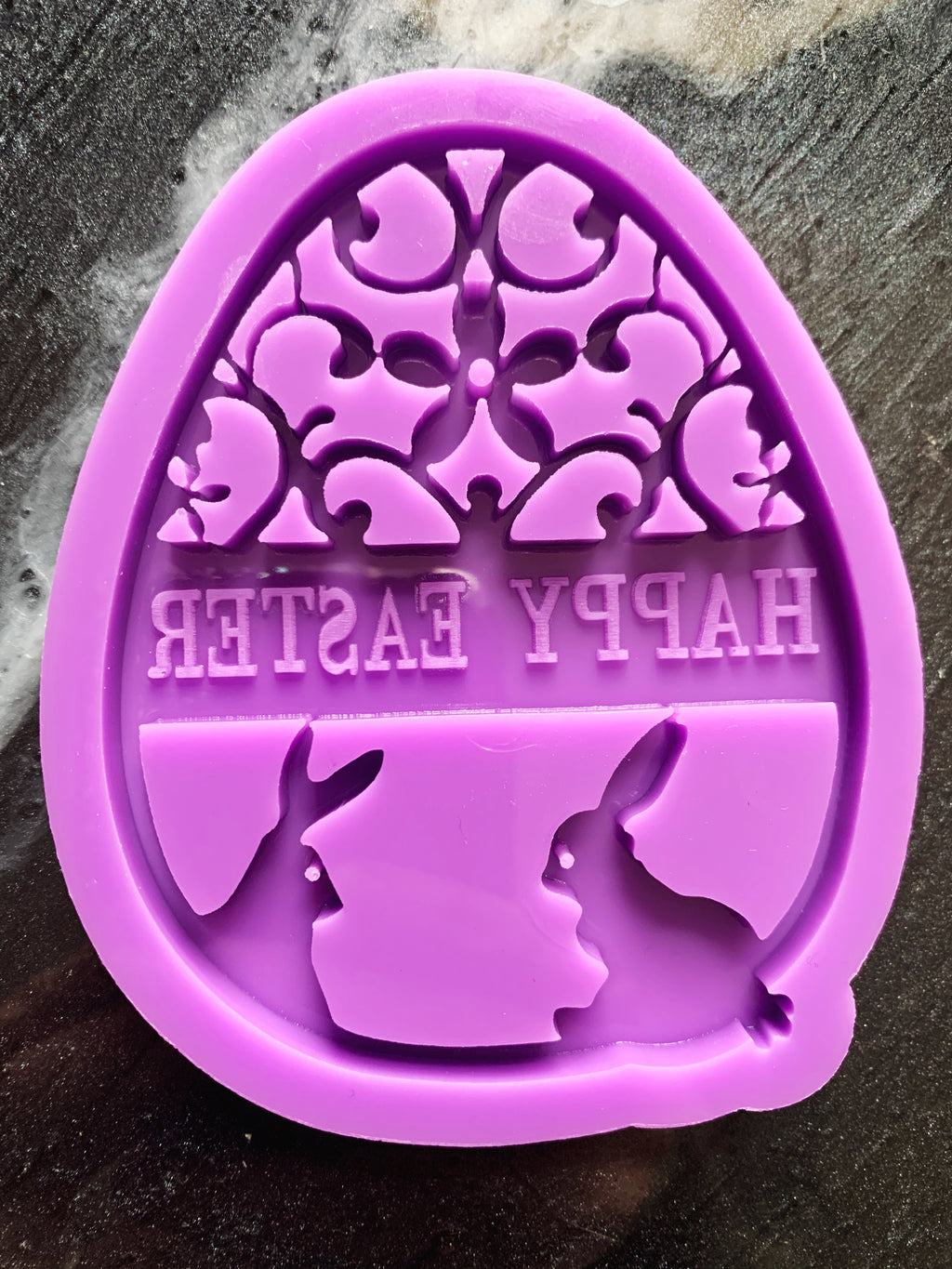 Happy Easter Resin Mold