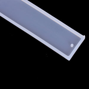 Rectangle Silicone Bookmark Mold, DIY With Resin