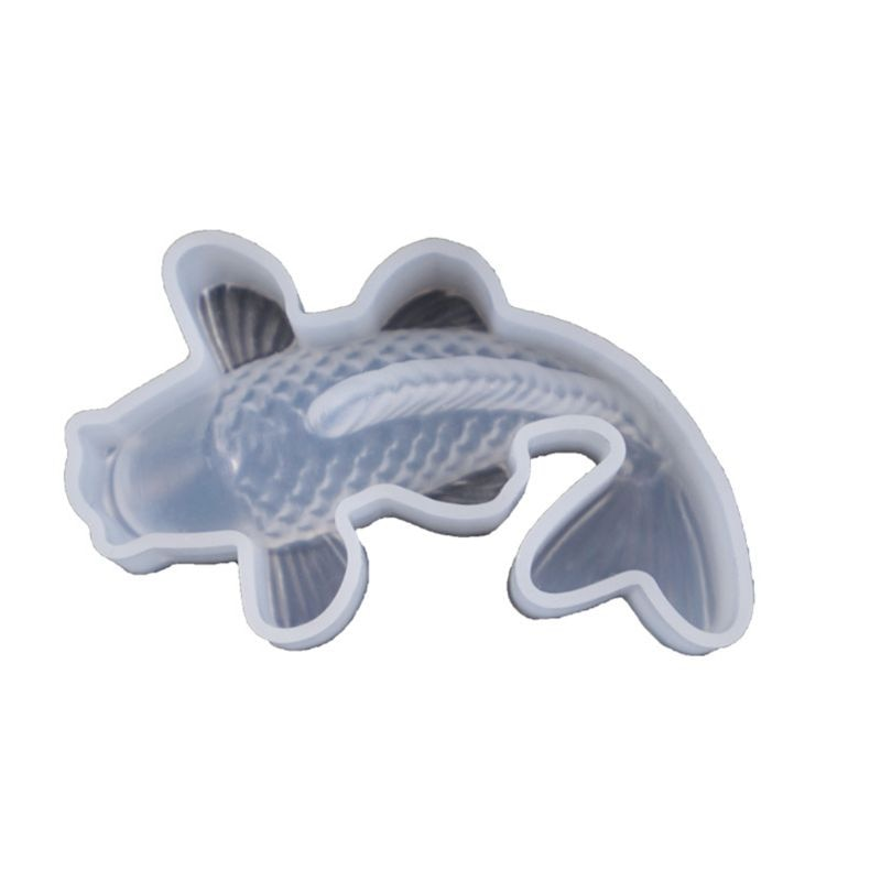 koi fish silicone resin mold