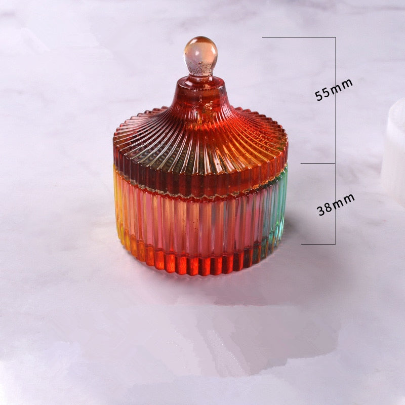 trinket dish resin silicone mold jewelry box candy dish mould
