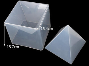 large pyramid mold for resin craft mold diy mould