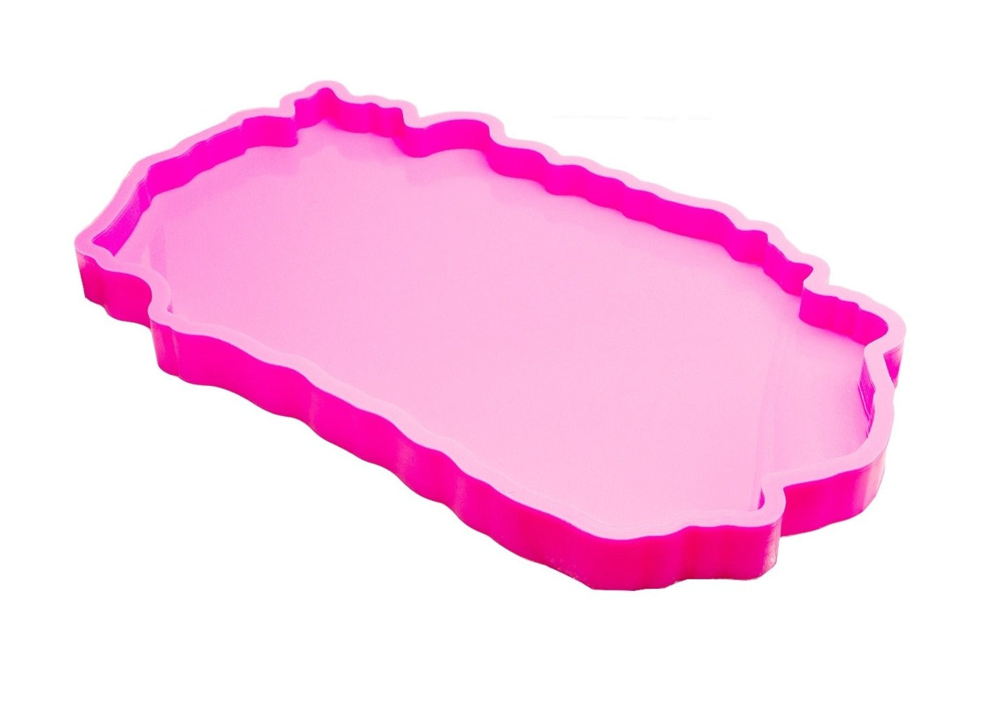 resin geode agate tray mold shiny high glossy mould