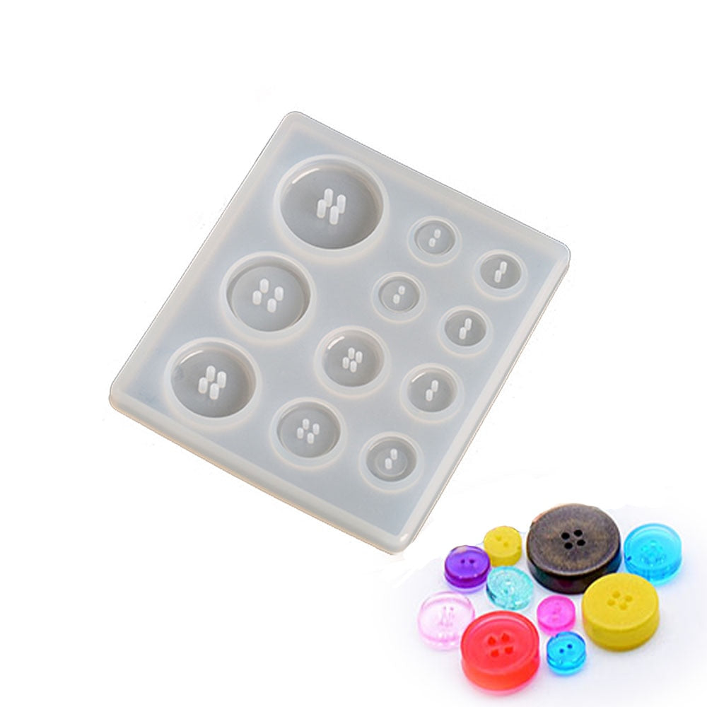 button resin mold