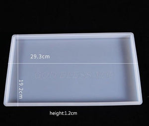 rectangle resin tray mold