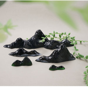 resin mountain mold silicone