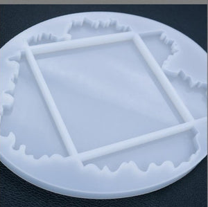 wave resin coaster silicone craft mold