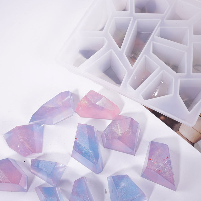 resin crystal gem stone mold silicone