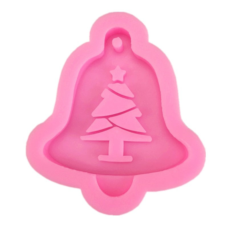 christmas tree resin craft mold silicone