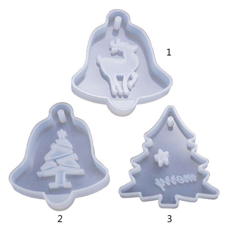 resin christmas ornament silicone craft mold