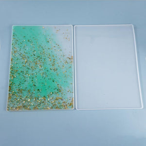 rectangle writing board placemat resin silicone mold