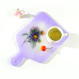 resin silicone tray mold cutting board