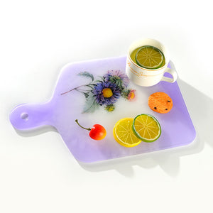 resin cutting board silicone mold