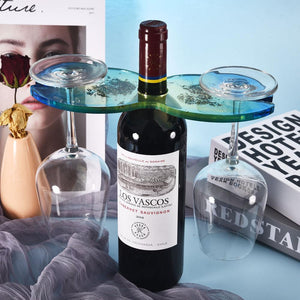 wine caddy resin mold butler