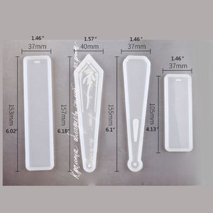 silicone resin bookmark mold