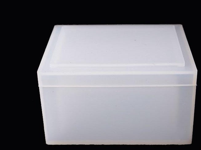 tissue box resin silicone mold