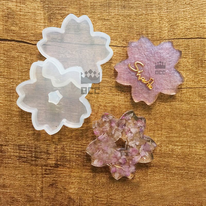 cherry blossom resin mold flower mold