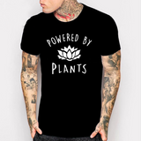 """Powered by Plants"" Unisex Tee  - Black / S - Project Love Back"