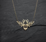 Geometric Bee Necklace  - [variant_title] - Project Love Back