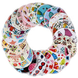 5 Pairs Bamboo Nursing Pads  - Mixed Print - Project Love Back