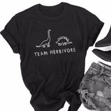 """Team Herbivore"" Dino Unisex Tee  - [variant_title] - Project Love Back"
