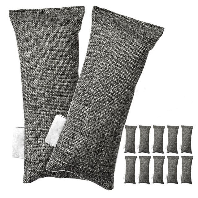 Pack of 12 Bamboo Charcoal Air Purifying Bags  - Default Title - Project Love Back