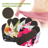 Bamboo Charcoal Reusable Sanitary Pads  - [variant_title] - Project Love Back