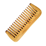 Bamboo Wide Tooth Comb  - [variant_title] - Project Love Back