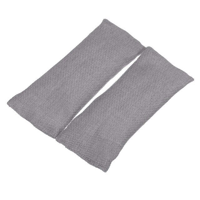 Set of 2 Bamboo Charcoal Air Purifying Activated Carbon Bags  - Grey - Project Love Back