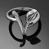 Vegan Symbol Ring  - [variant_title] - Project Love Back