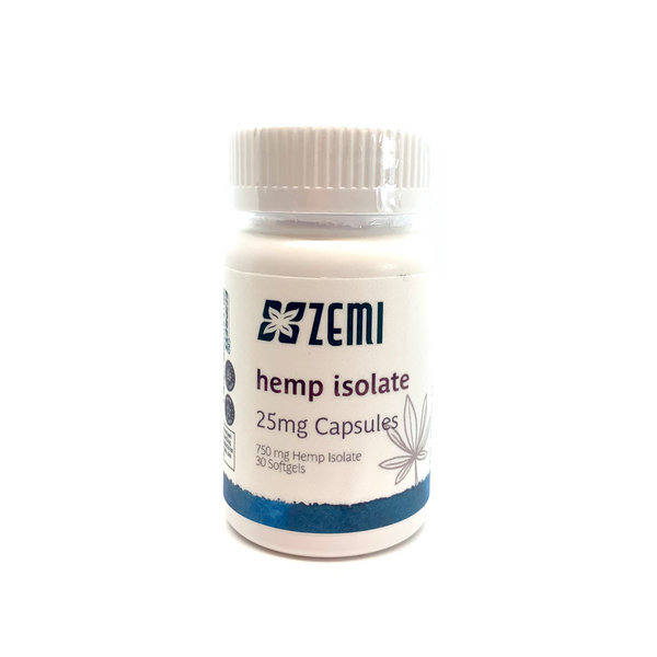 Hemp Isolate 25mg Capsules