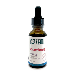 Strawberry Tincture 500mg