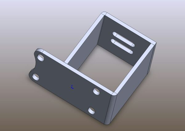 1UZ/2UZ/3UZ Into S-Chassis Engine Mount Brackets!